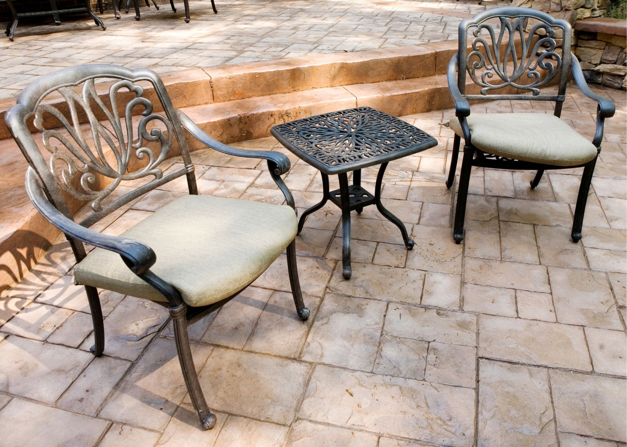 concrete patio Des Moines IA